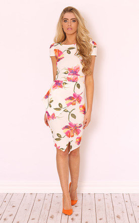 Elora floral midi dress by LullaBellz Product photo