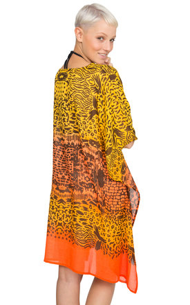 Rio Summer Kaftan Orange by likemary