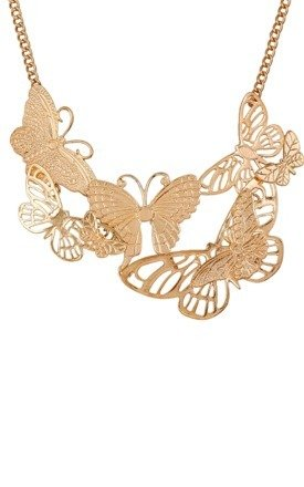 The New Mini Intricate Butterfly Necklace by Ruby Rocks Accessories