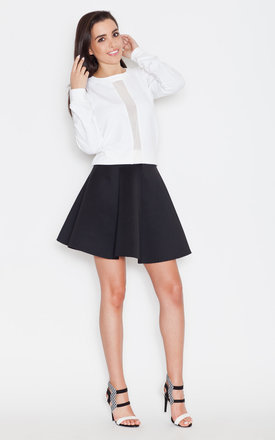 Black mini skirt by KATRUS Product photo