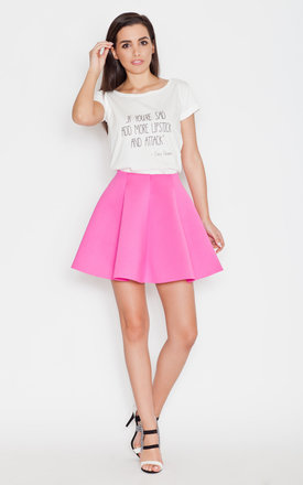 Pink mini skirt by KATRUS Product photo