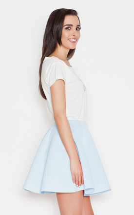 Blue mini skirt by KATRUS Product photo
