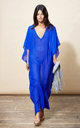 Jordana kaftan in royal blue  by Dancing Leopard Product photo