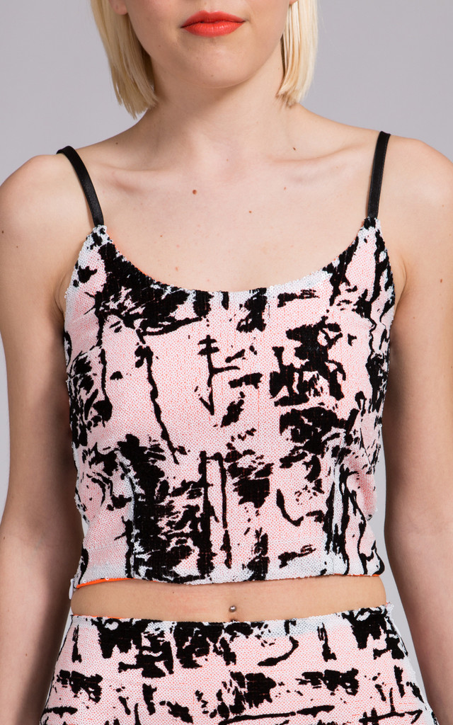 Sophie Sequins Cami Top by NO FIXED ABODE
