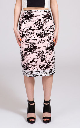 Sophie Sequins Pencil Skirt by NO FIXED ABODE
