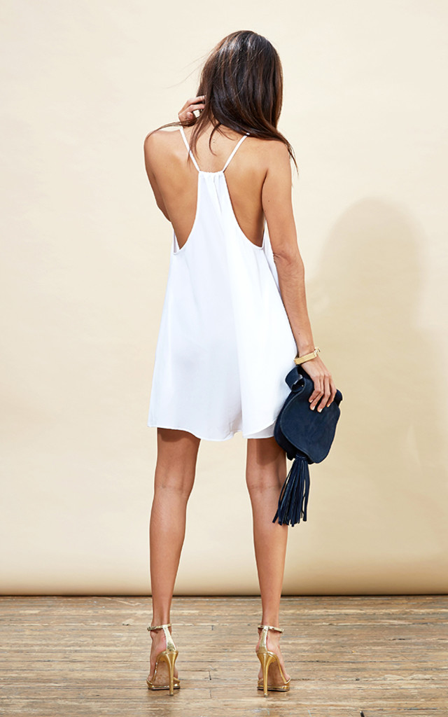 Samba Mini Dress in White image