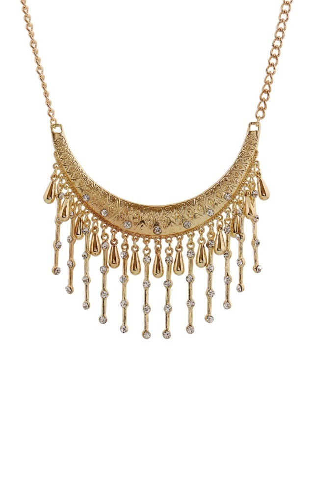 Gold Delicate Vintage Drop Necklace by Ruby Rocks Accessories