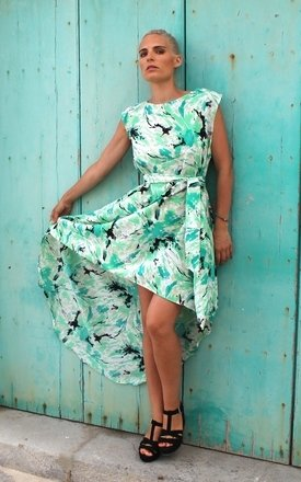 Toowoomba dip hem dress by Angharad Owen Product photo