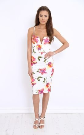 Estonia floral midi dress by LullaBellz Product photo
