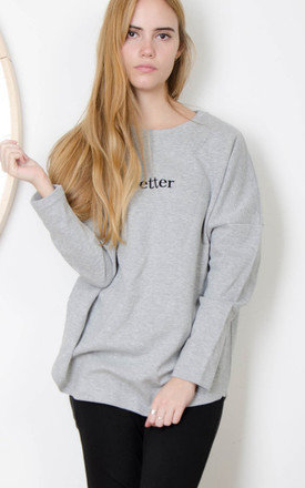 Better text sweater by Daze Product photo