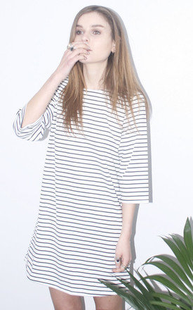Stripe shift mini dress by Daze Product photo