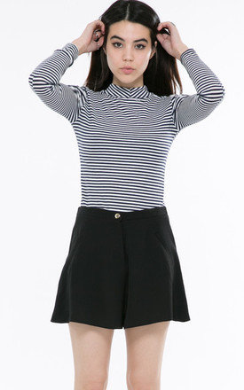 Black shorts by Daze Product photo