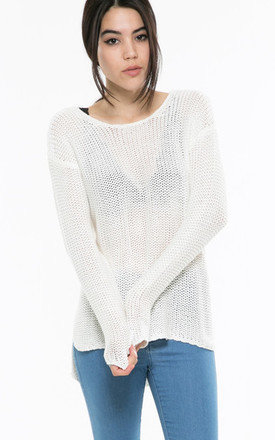 White knit jumper by Daze Product photo