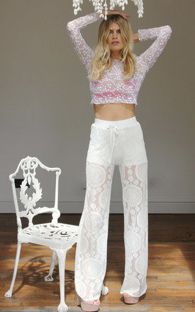 Crochet pant  by Never Fully Dressed Product photo
