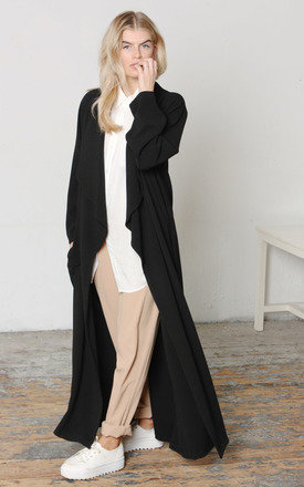 Maxi duster black  by Never Fully Dressed Product photo