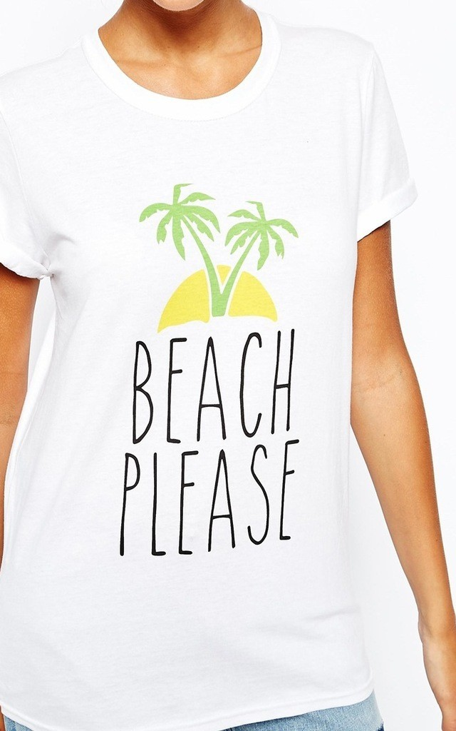 Beach Please T-Shirt by Adolescent Clothing