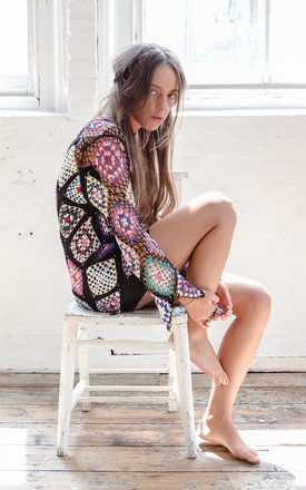 Cosmic crochet cardigan by Pass the Salt Clothing Product photo