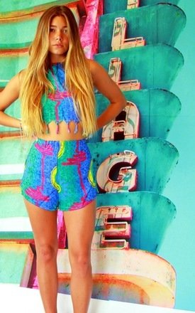 Tutti fruity blue two piece by Elsie & Fred Product photo