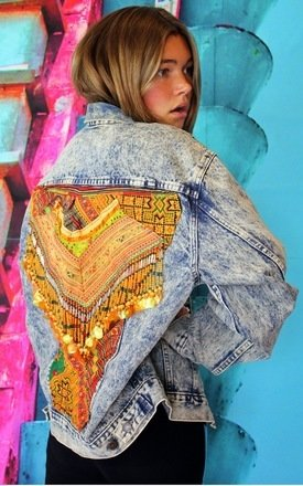 Labour of love navajo jacket by Elsie & Fred Product photo