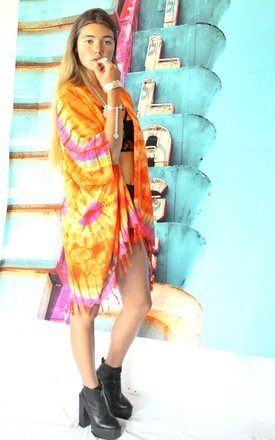 Desert storm kimono by Elsie & Fred Product photo