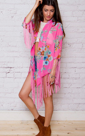 Kari floral kimono by Allegra Product photo