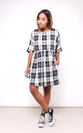 Checked smock dress by House of Jam Product photo