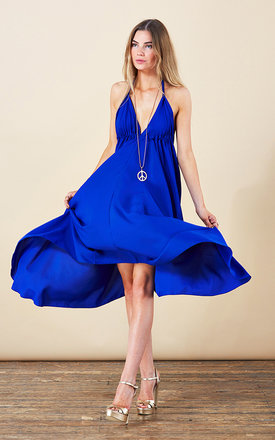 Boho maxi in cobalt blue by Dancing Leopard Product photo