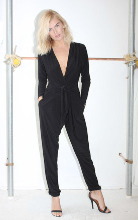 Jodie jumpsuit in black by Never Fully Dressed Product photo