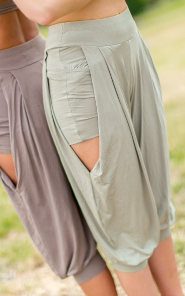 Dharma Yoga/Lounge Pants - Eucalyptus by House of Dharma