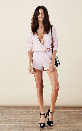 Tiago playsuit in blush pink by Dancing Leopard Product photo