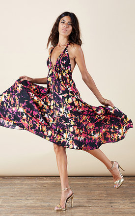 Boho maxi in autumn blom by Dancing Leopard Product photo