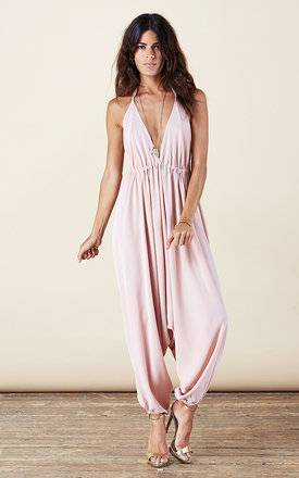 Genie jumpsuit in blush pink by Dancing Leopard Product photo