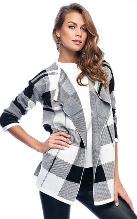 Tartan print cardigan by URBAN TOUCH Product photo