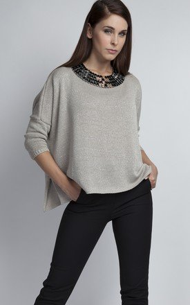 Oversized knitwear top by MKM Knitwear Design Product photo
