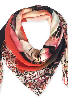 Rose oversized luxury scarf by Leanne Claxton Product photo