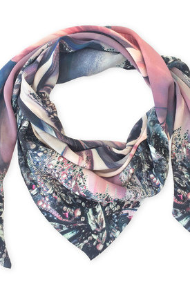 Jasmine oversized luxury scarf by Leanne Claxton Product photo