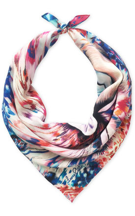 Fleur luxury neck scarf by Leanne Claxton Product photo