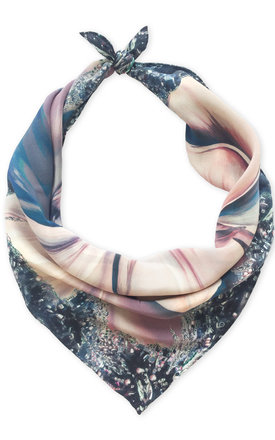 Jasmine luxury neck scarf by Leanne Claxton Product photo