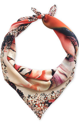 Rose luxury neck scarf by Leanne Claxton Product photo