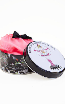 Exotic Circus Knicker Tin - Hoop Girl by Playful Promises