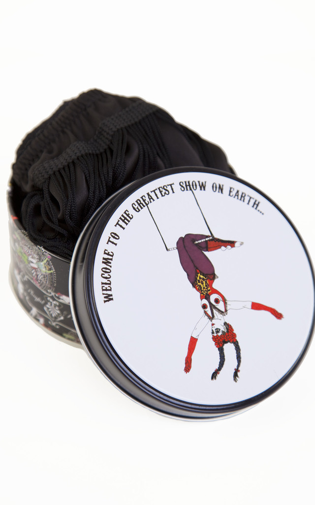 Exotic Circus Knicker Tin - Trapeze Girl by Playful Promises