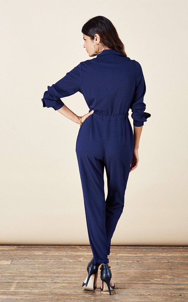 Luciana Jumpsuit in Navy image