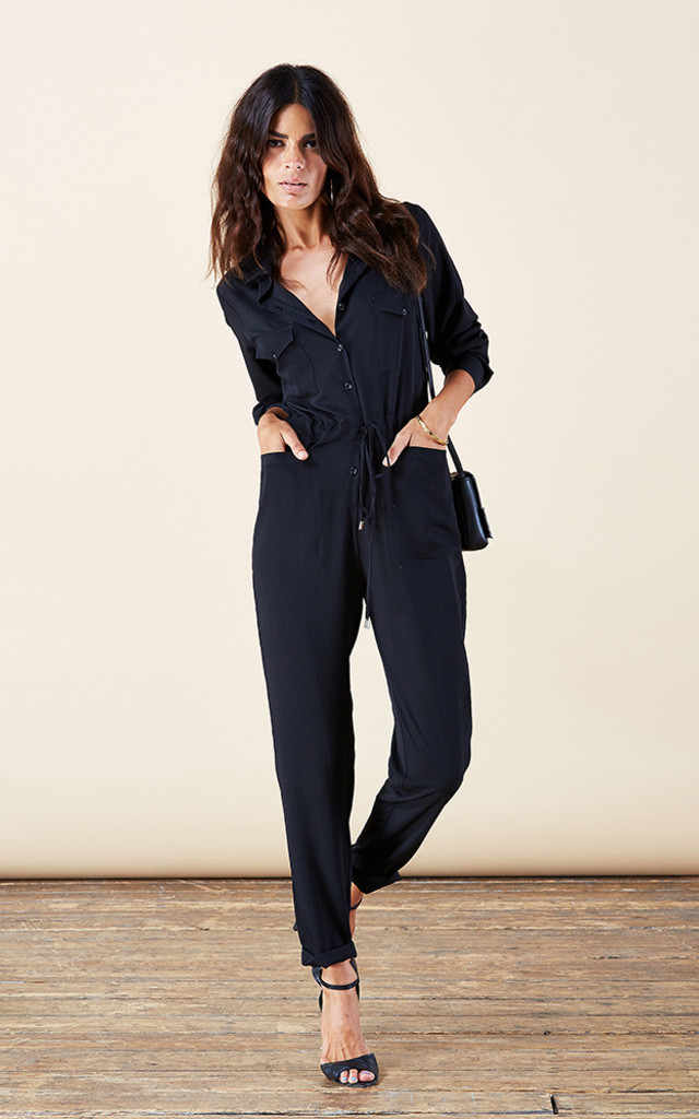 Luciana Jumpsuit in Black image