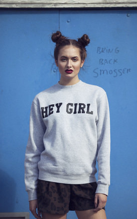 Hey girl sweatshirt by Olive and Frank Product photo