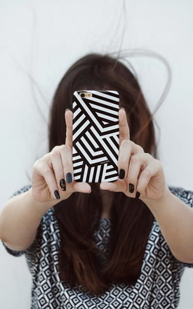 Dazzle camo iphone case by Madotta Product photo