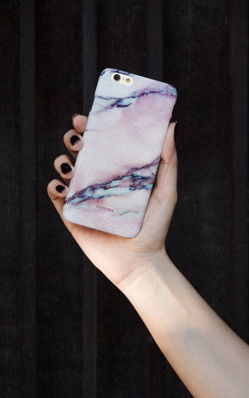 Pink marble iphone case by Madotta Product photo