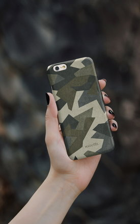Desert camouflage iphone case by Madotta Product photo