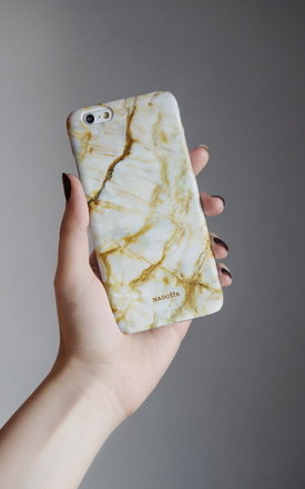 Golden marble iphone case by Madotta Product photo