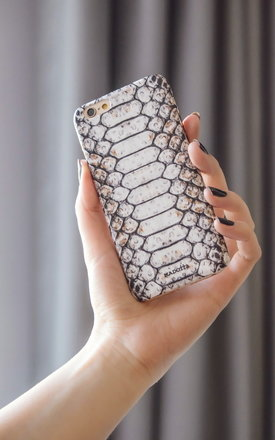 Snake print iphone case by Madotta Product photo