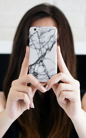 White marble iphone case by Madotta Product photo